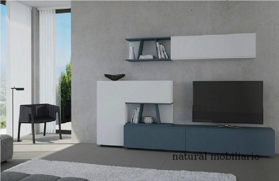 Muebles Modernos chapa natural/lacados salon moderno gism 1-628-1010