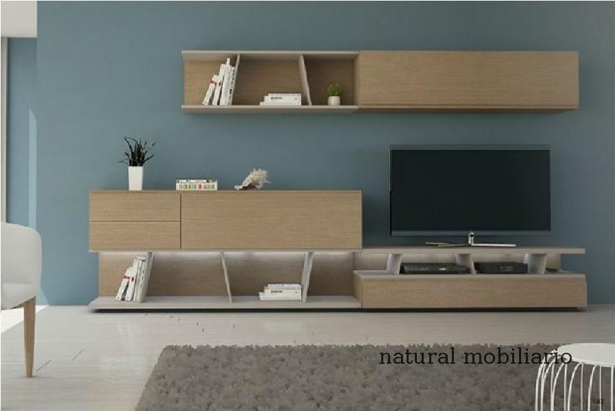 Muebles Modernos chapa natural/lacados salon moderno gism 1-628-1005