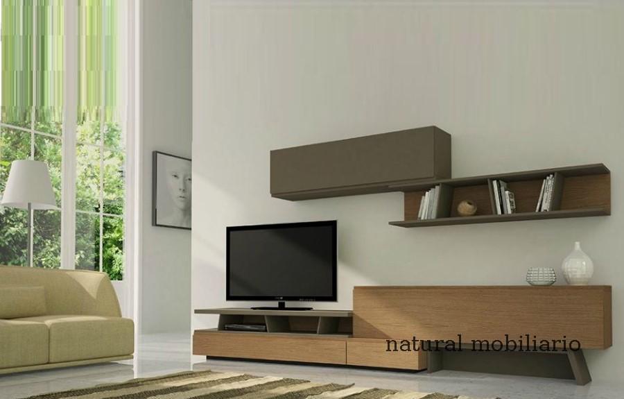 Muebles Modernos chapa natural/lacados salon moderno gism 1-628-1004
