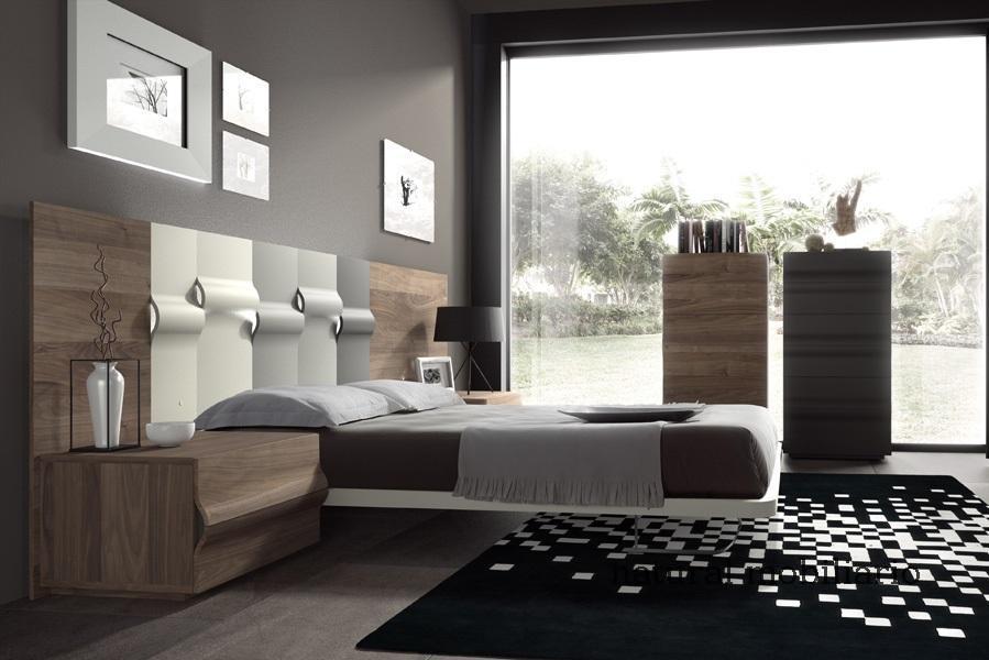Muebles Modernos chapa natural/lacados dormitorios moderno1-782mesesolf521
