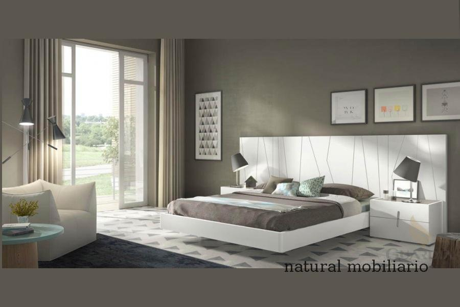 Muebles Modernos chapa natural/lacados dormitorio moderno guar 2-486-559