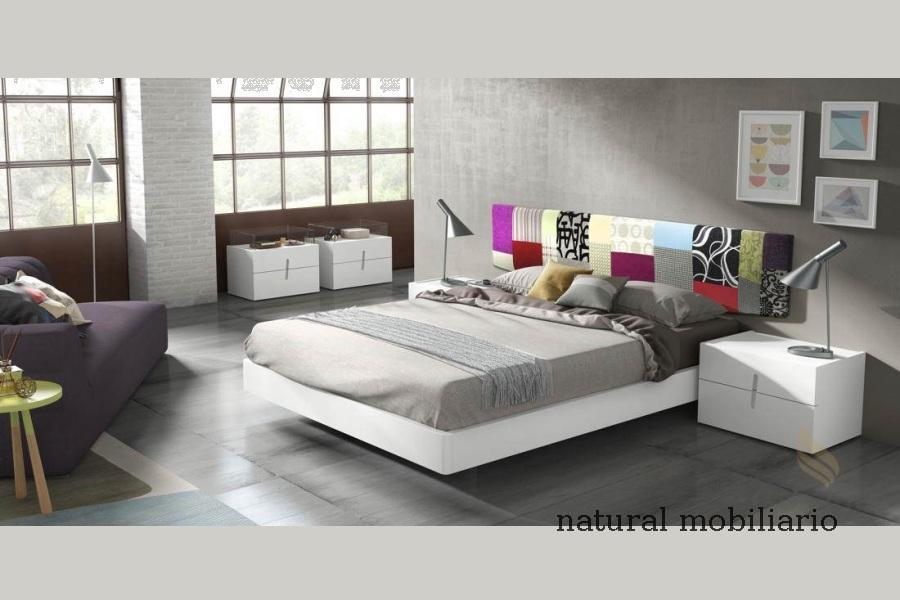 Muebles Modernos chapa natural/lacados dormitorio moderno guar 2-486-558