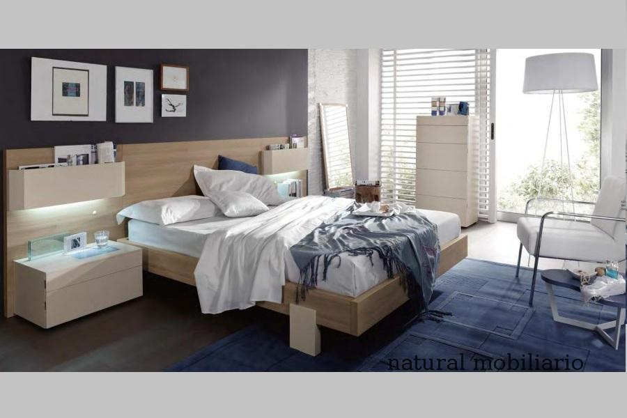 Muebles Modernos chapa sintética/lacados dormitorio moderno kaza 1-188-659