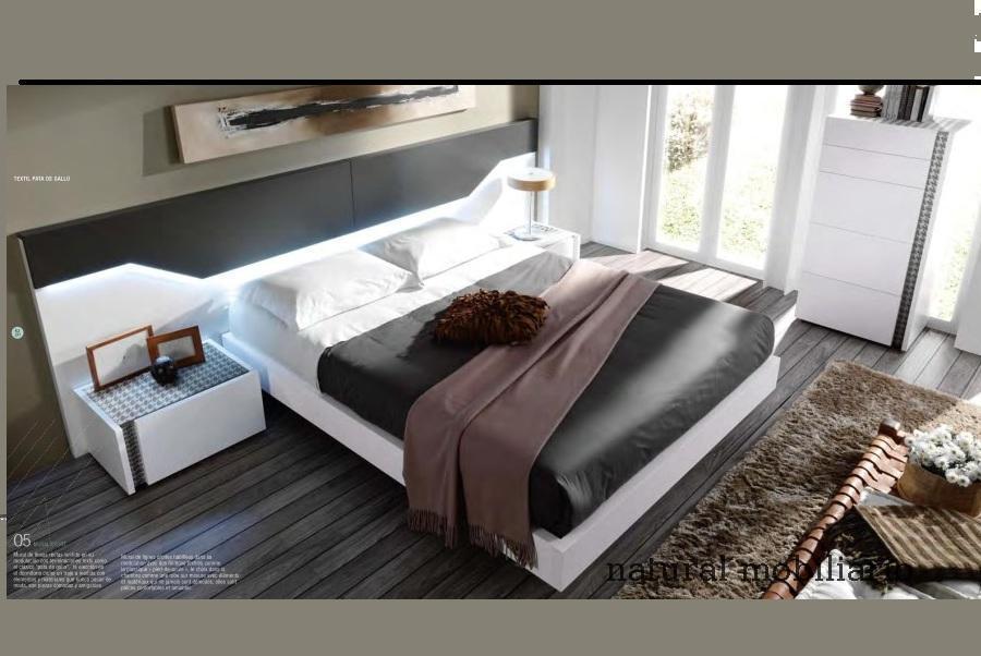 Muebles Modernos chapa sintética/lacados dormitorio moderno kaza 1-188-654