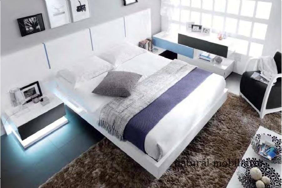 Muebles Modernos chapa sintética/lacados dormitorio moderno kaza 1-188-667