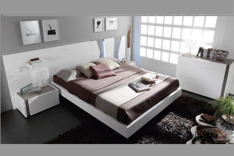 Muebles Modernos chapa sintética/lacados dormitorio moderno kaza 1-188-652