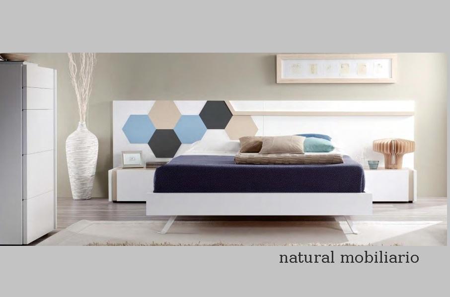 Muebles Modernos chapa sintética/lacados dormitorio moderno kaza 1-188-669