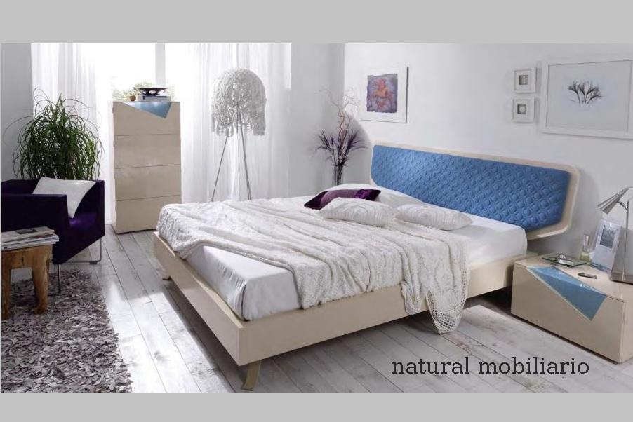 Muebles Modernos chapa sintética/lacados dormitorio moderno kaza 1-188-671