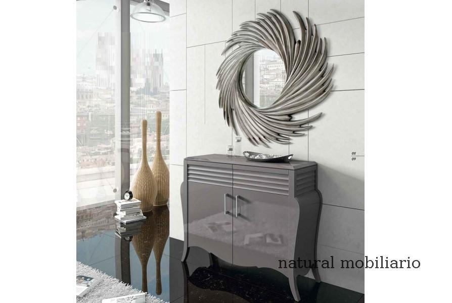 Muebles Recibidores recibidor lacado curv 1-67-506