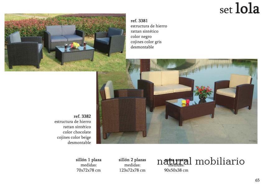 Muebles  terraza playa jardin alma 1-32-607