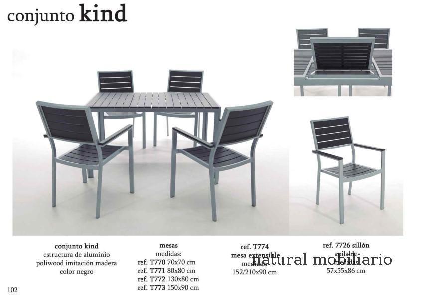 Muebles  terraza playa jardin alma 1-32-623