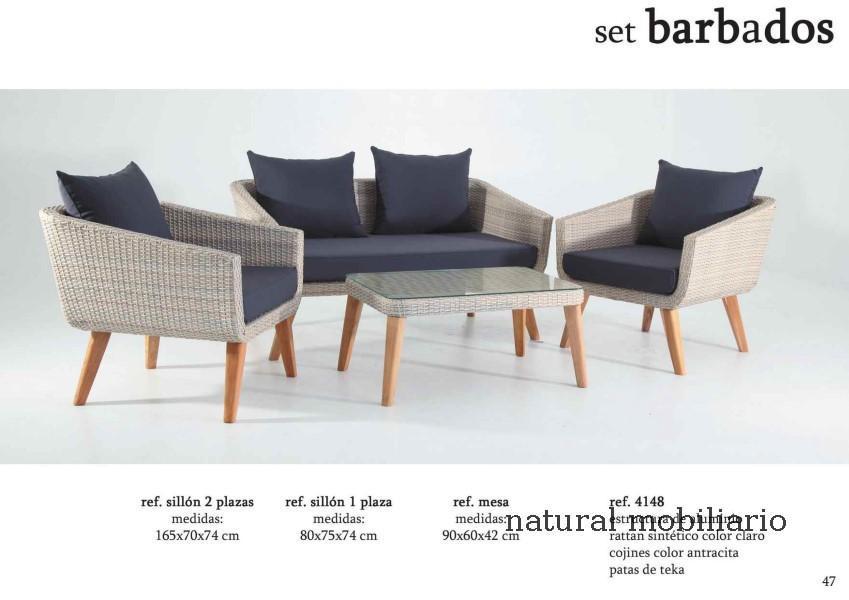 Muebles  terraza playa jardin alma 1-32-604