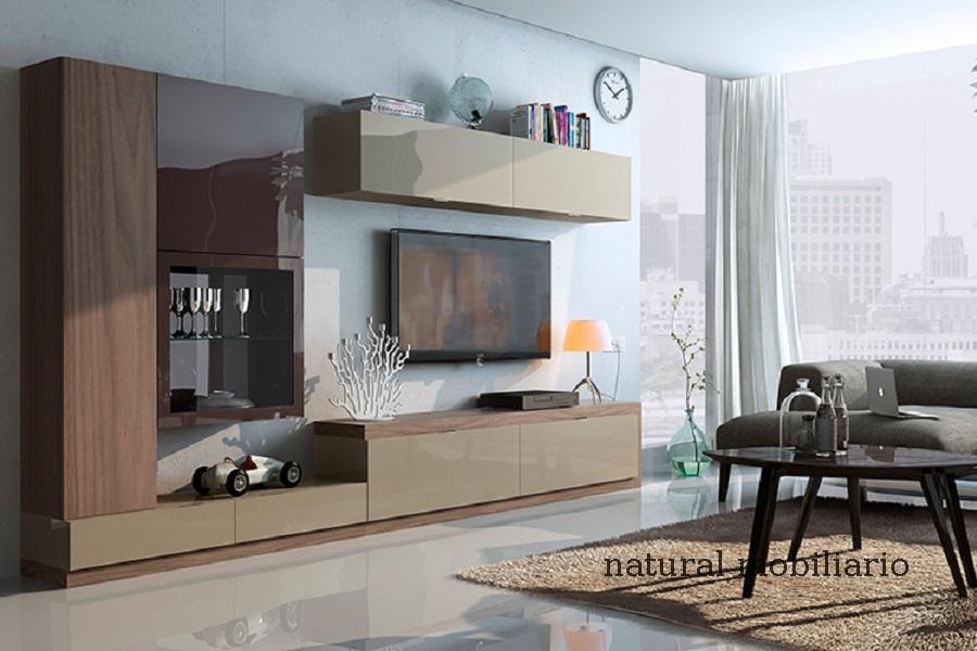 Muebles Modernos chapa natural/lacados salon moderno cost 3-89-1103