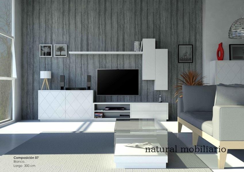 Muebles Modernos chapa natural/lacados salon moderno cubi 1-1-1156
