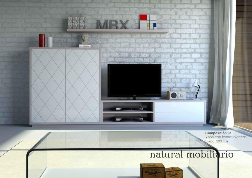 Muebles Modernos chapa natural/lacados salon moderno cubi 1-1-1152