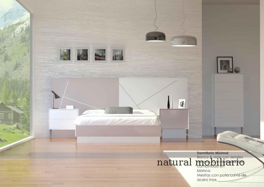 Muebles Modernos chapa natural/lacados dormitorio moderno cubi 1-1 702