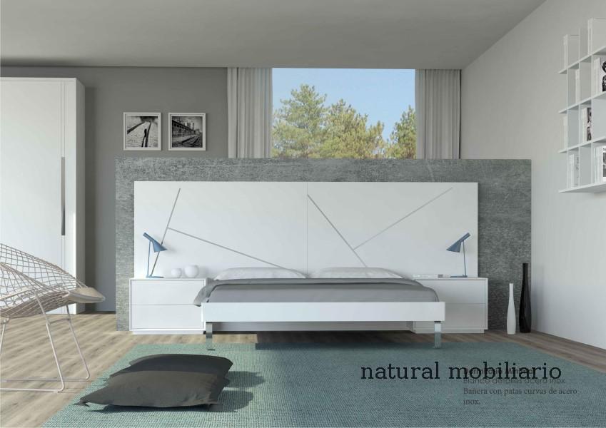 Muebles Modernos chapa natural/lacados dormitorio moderno cubi 1-1 700