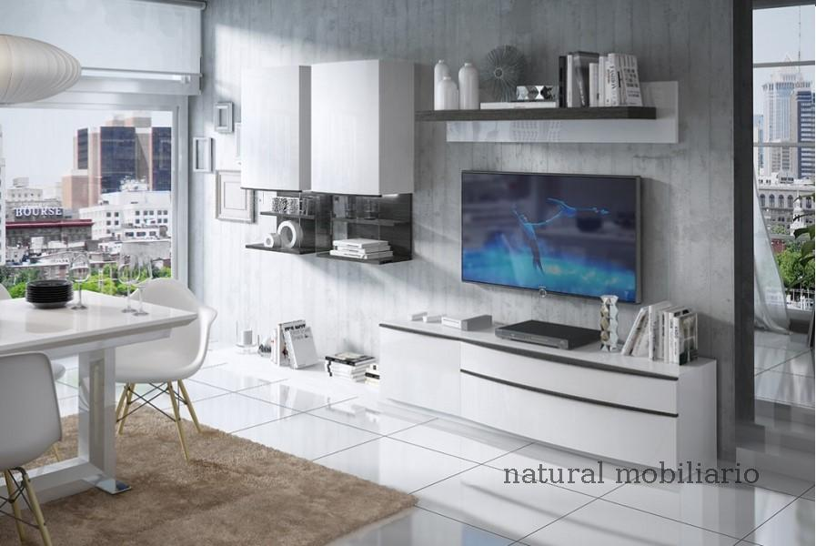 Muebles Modernos chapa natural/lacados salon feni 11-1203
