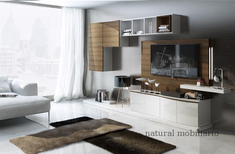 Muebles Modernos chapa natural/lacados salon feni 11-1204