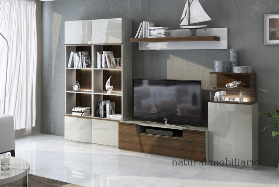 Muebles Modernos chapa natural/lacados salon feni 11-1201