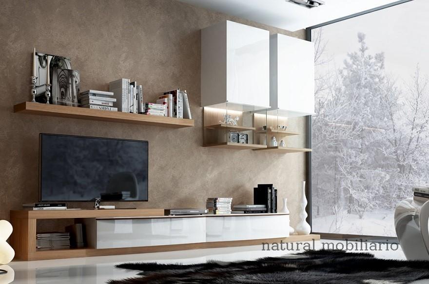 Muebles Modernos chapa natural/lacados salon feni 11-1206