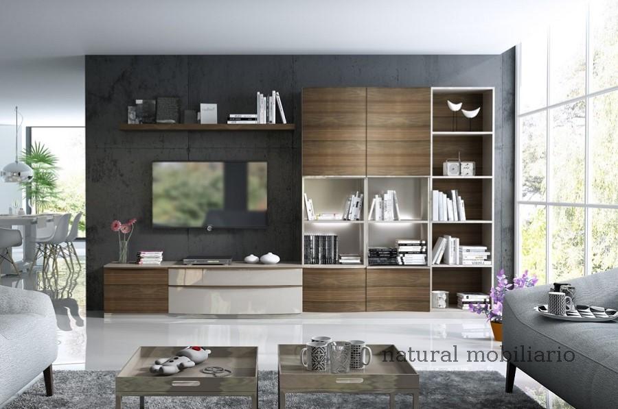 Muebles Modernos chapa natural/lacados salon feni 11-1205