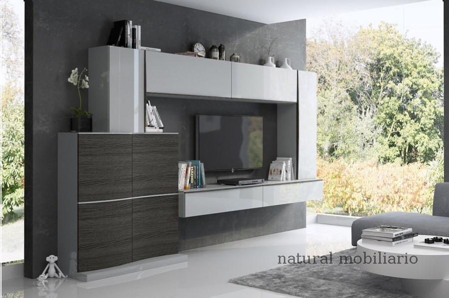 Muebles Modernos chapa natural/lacados salon feni 11-1208