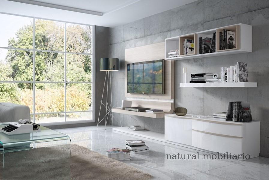 Muebles Modernos chapa natural/lacados salon feni 11-1207
