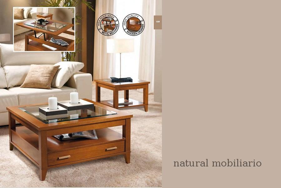 Muebles Mesas de centro mesa centro clasica pana 22-1012