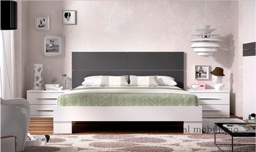 Muebles Modernos chapa sintética/lacados dormitorio rimo 0-757-904