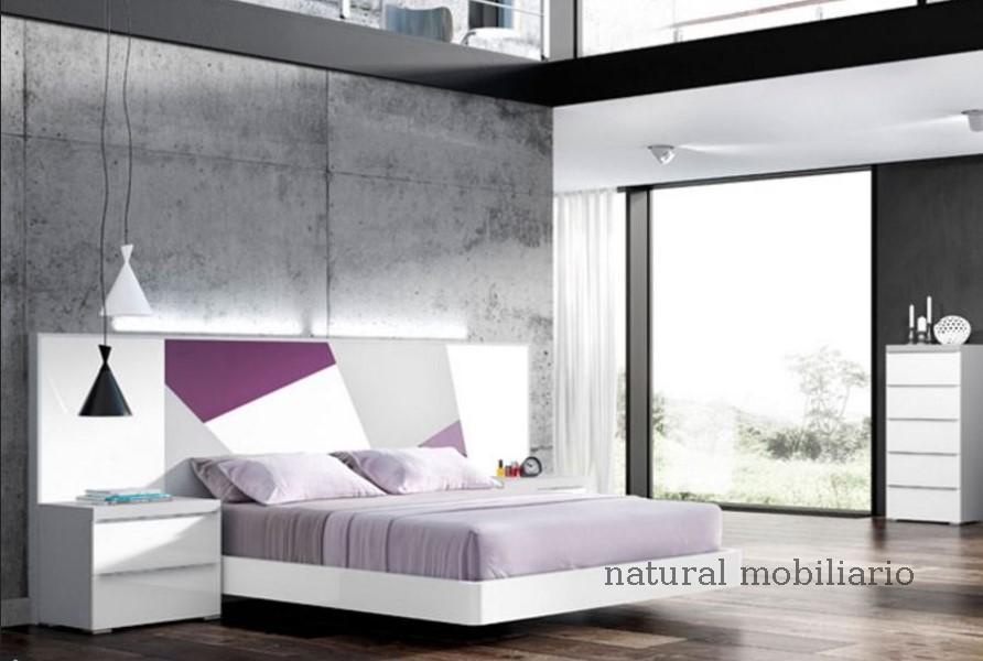 Muebles Modernos chapa natural/lacados dormitorio joro 1-19-714
