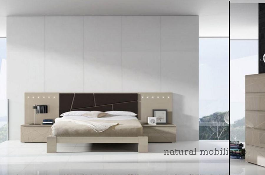 Muebles Modernos chapa natural/lacados dormitorio joro 1-19-709