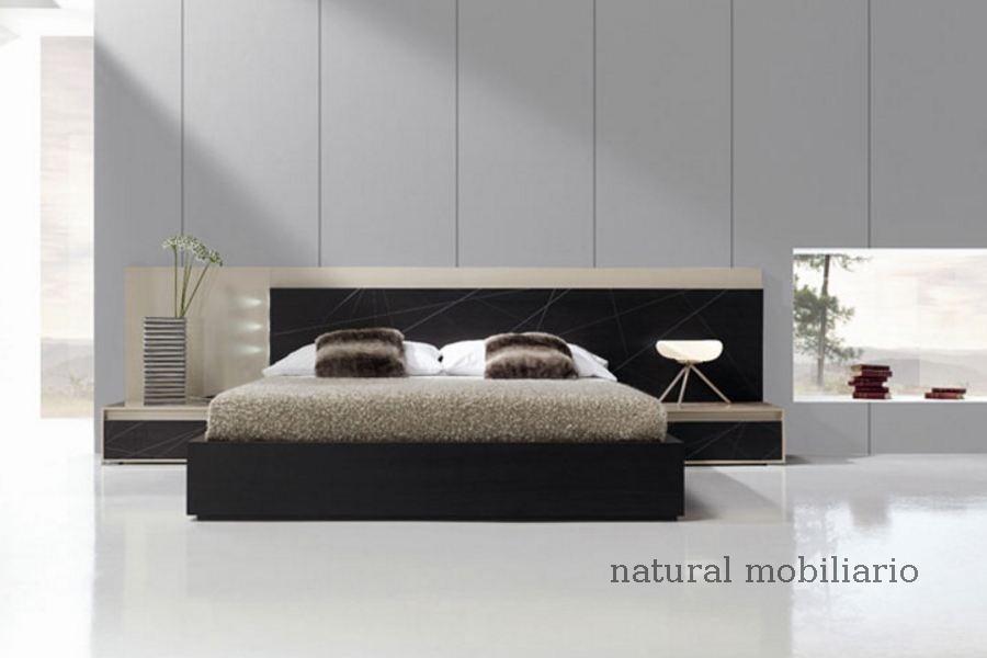 Muebles Modernos chapa natural/lacados dormitorio joro 1-19-718