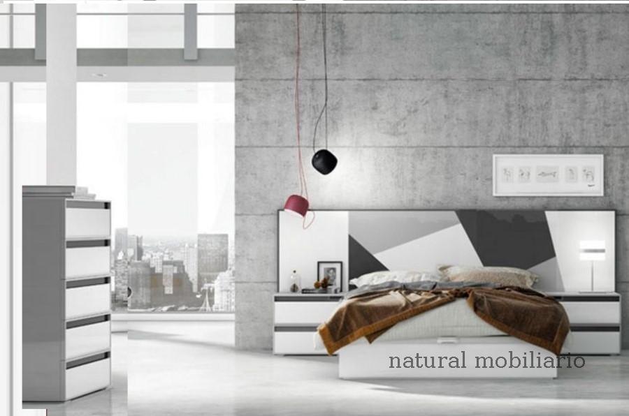 Muebles Modernos chapa natural/lacados dormitorio joro 1-19-720