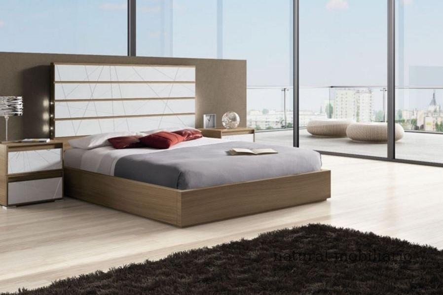 Muebles Modernos chapa natural/lacados dormitorio joro 1-19-703