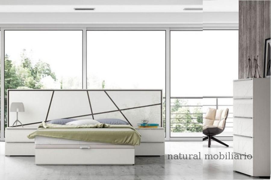 Muebles Modernos chapa natural/lacados dormitorio joro 1-19-710