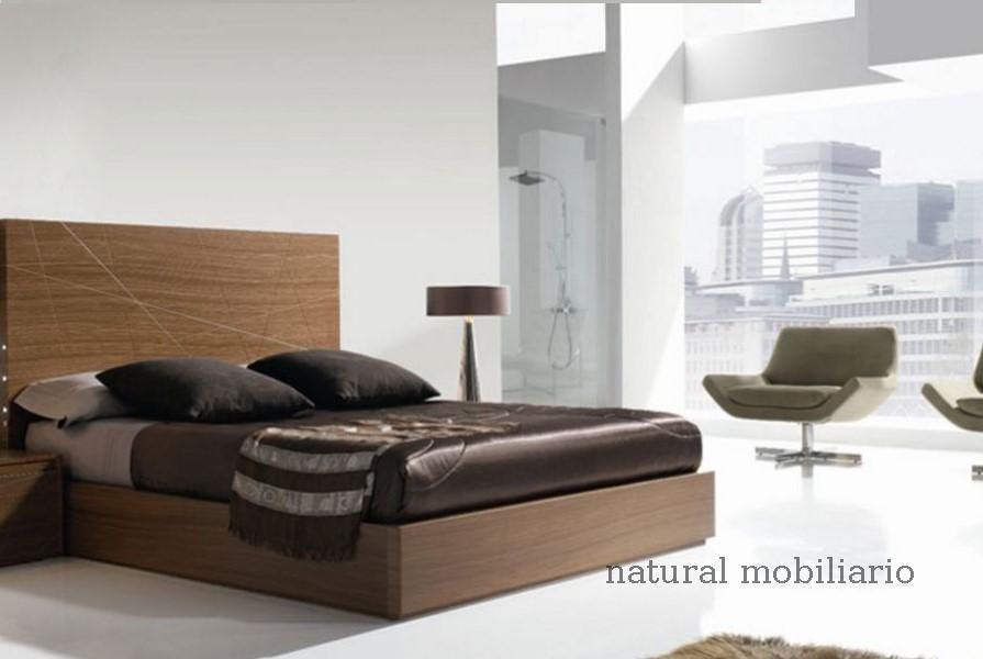 Muebles Modernos chapa natural/lacados dormitorio joro 1-19-715