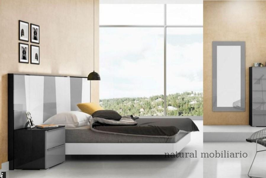 Muebles Modernos chapa natural/lacados dormitorio joro 1-19-706