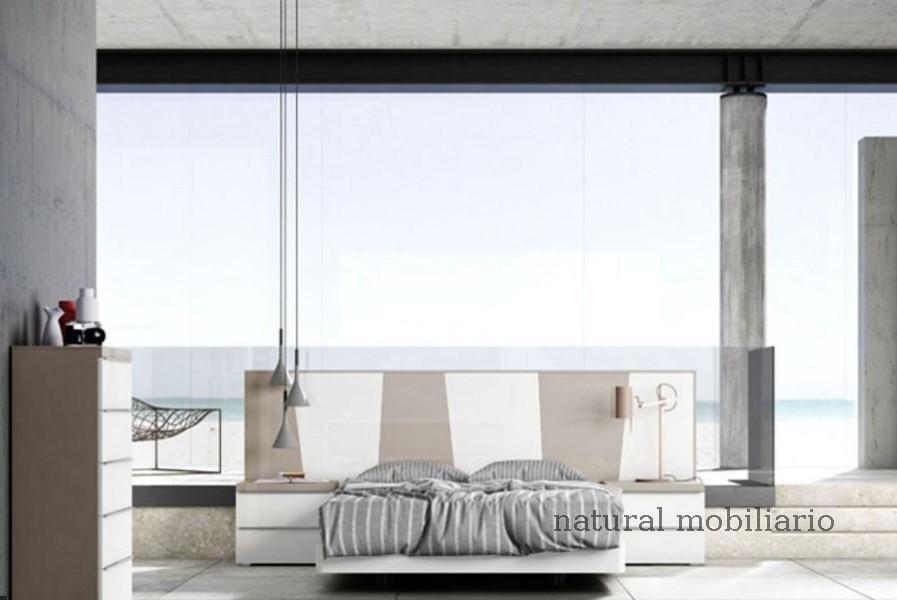 Muebles Modernos chapa natural/lacados dormitorio joro 1-19-712