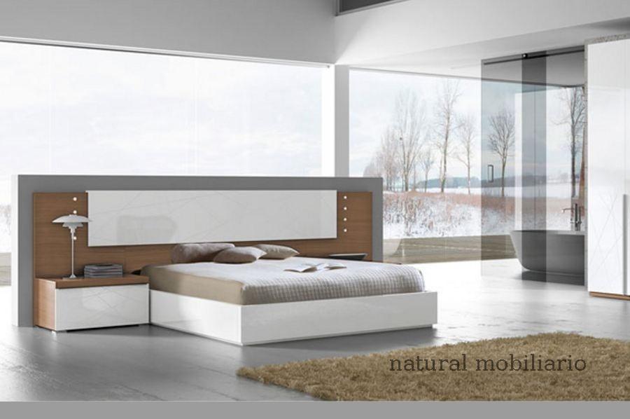 Muebles Modernos chapa natural/lacados dormitorio joro 1-19-717