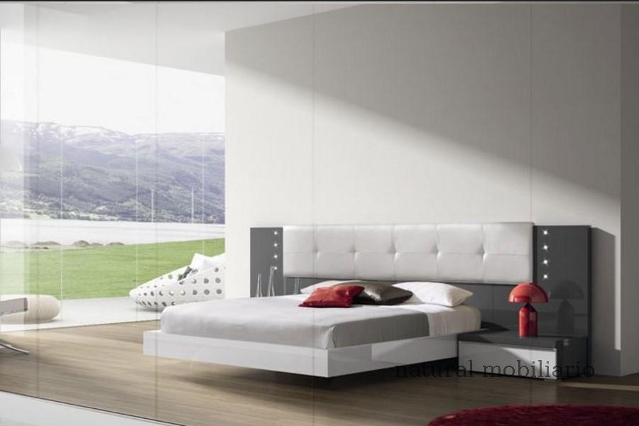 Muebles Modernos chapa natural/lacados dormitorio joro 1-19-702