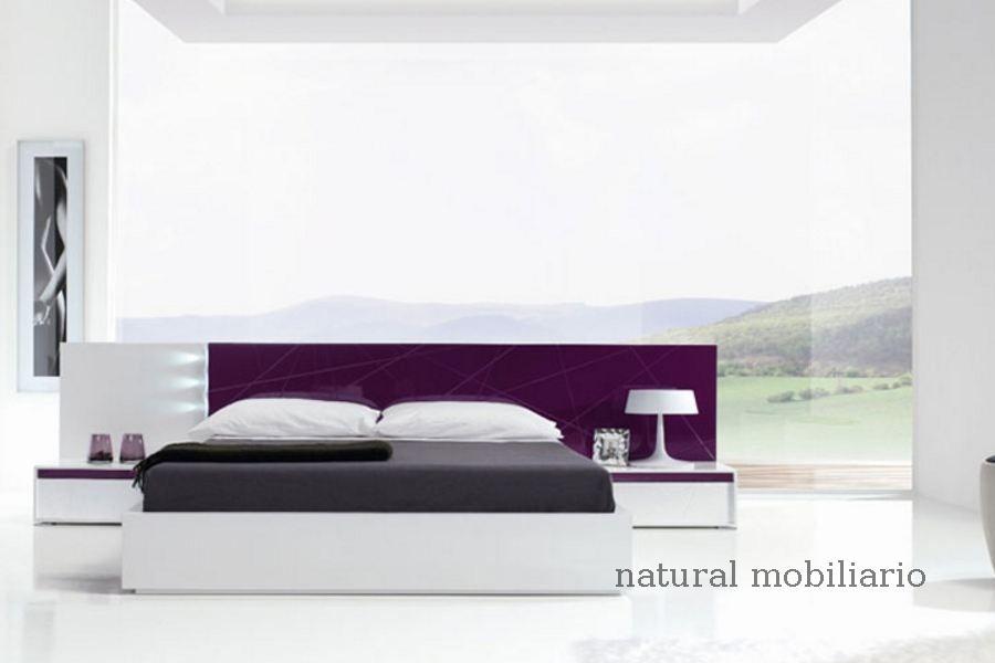 Muebles Modernos chapa natural/lacados dormitorio joro 1-19-708