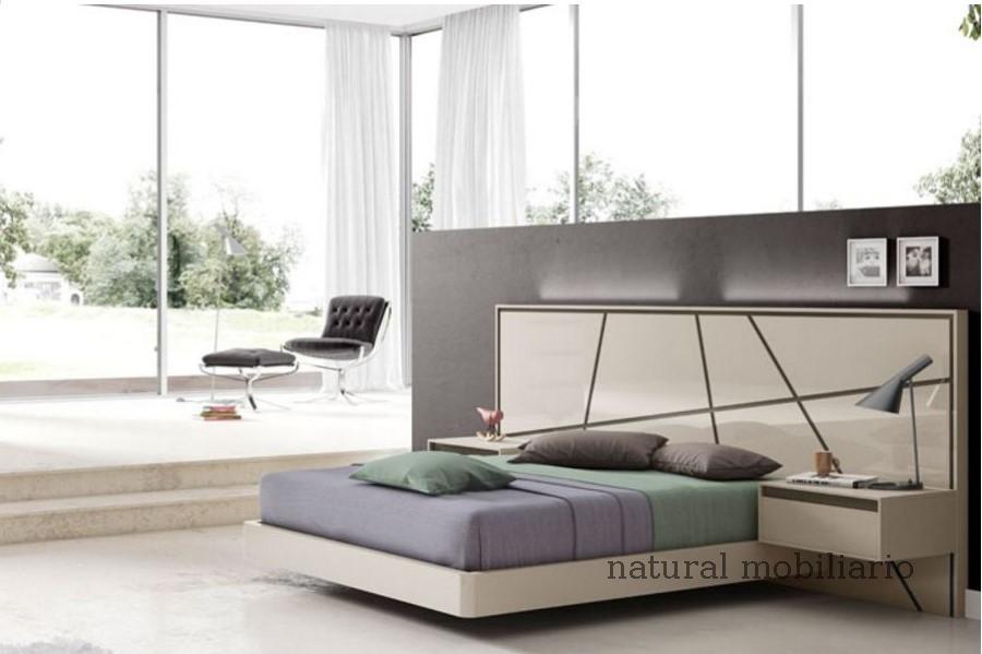 Muebles Modernos chapa natural/lacados dormitorio joro 1-19-701