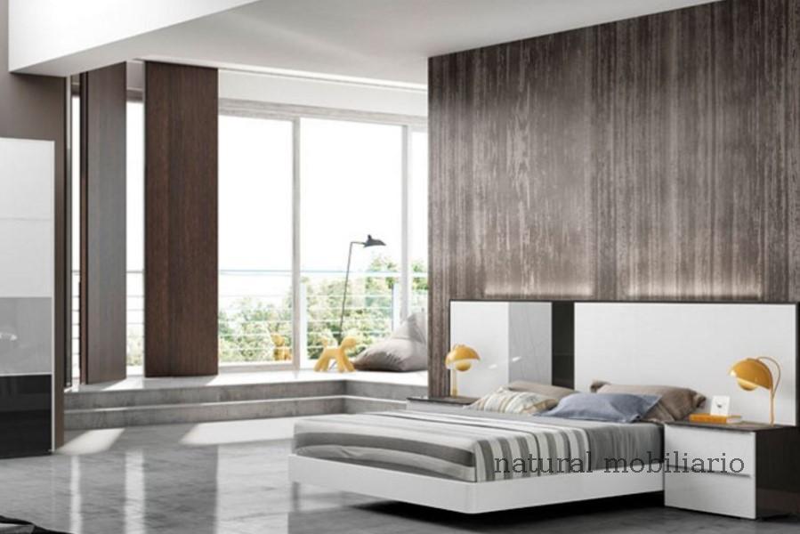 Muebles Modernos chapa natural/lacados dormitorio joro 1-19-716