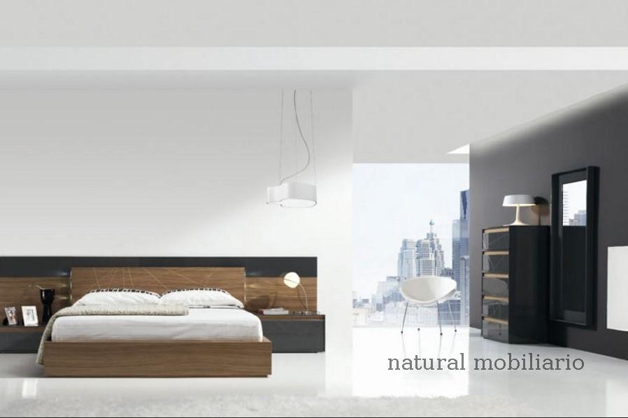 Muebles Modernos chapa natural/lacados dormitorio joro 1-19-704