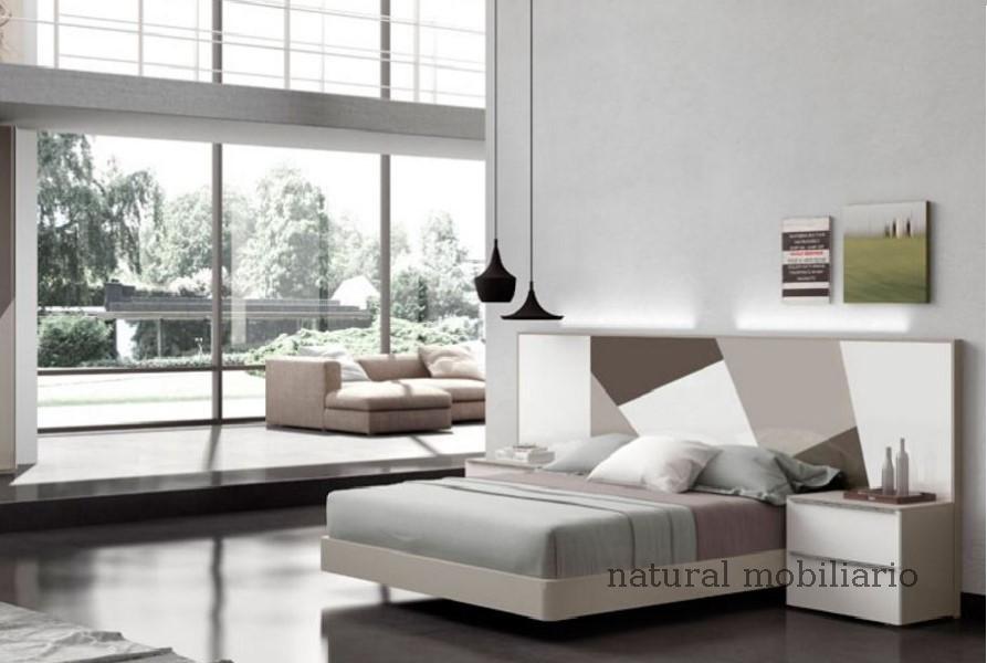 Muebles Modernos chapa natural/lacados dormitorio joro 1-19-700