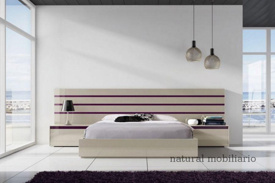 Muebles Modernos chapa natural/lacados dormitorio joro 1-19-719