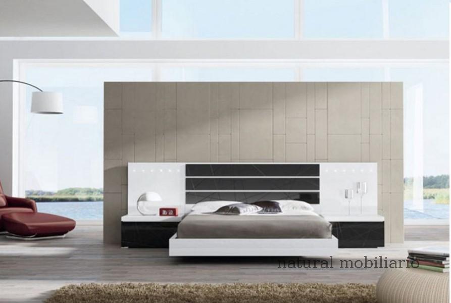 Muebles Modernos chapa natural/lacados dormitorio joro 1-19-713