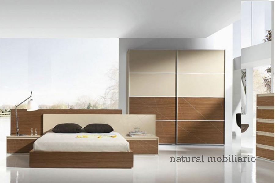 Muebles Modernos chapa natural/lacados dormitorio joro 1-19-721