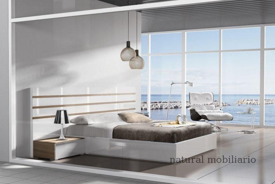 Muebles Modernos chapa natural/lacados dormitorio joro 1-19-705